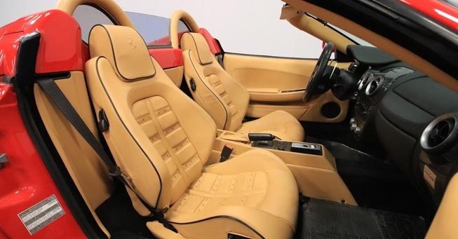 Sausalito Ferrari Interior