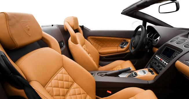 Sausalito Lamborghini Gallardo Interior