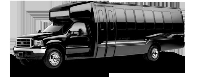 Sausalito 28 Passenger Party Bus Exterior