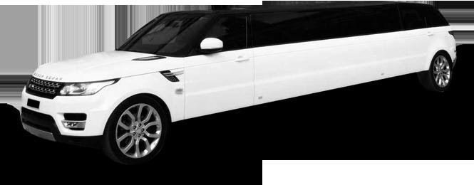 Sausalito Range Rover Stretch Limo Exterior