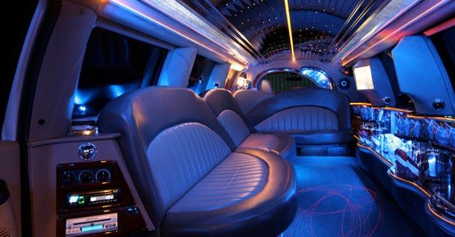 Sausalito Range Rover Stretch Limo Interior