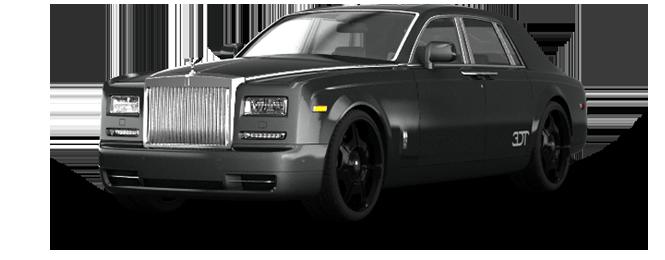 Sausalito Rolls Royce Phantom Exterior